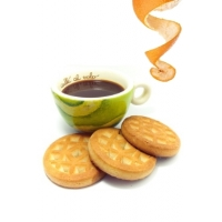 Etui  de 6 Sachets de 5 biscuits protéinés orange